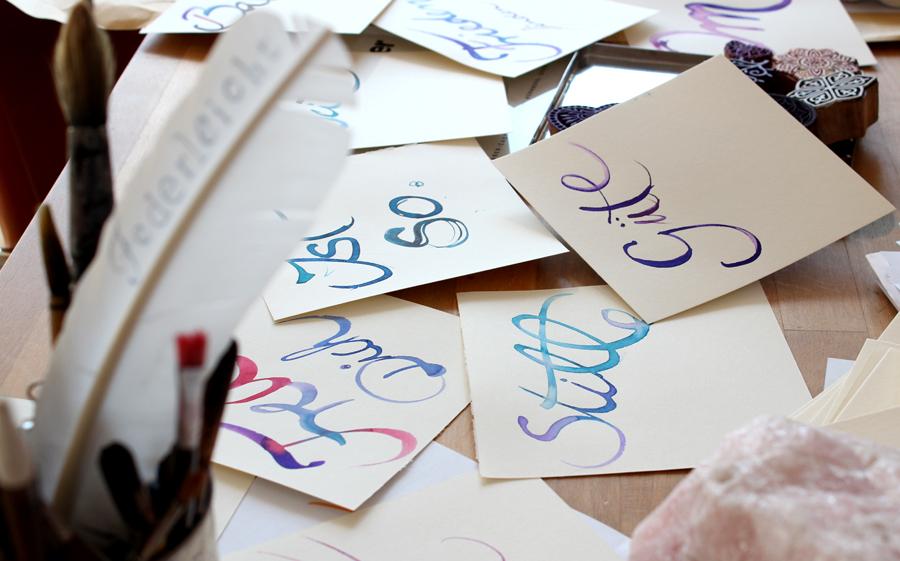 Kalligrafie-Event bei Sam Nok zum chinesischen Neujahr - Anja Dähnke
